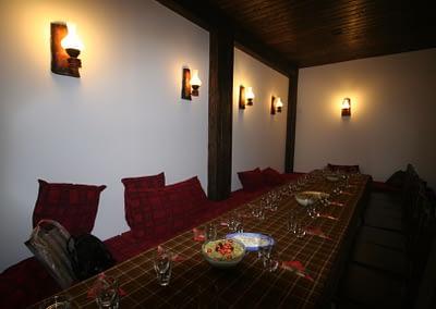 Механата на Къща за гости Орешака