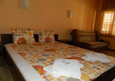 Двойна стая с разтегателен диван в Къща за гости Орешака